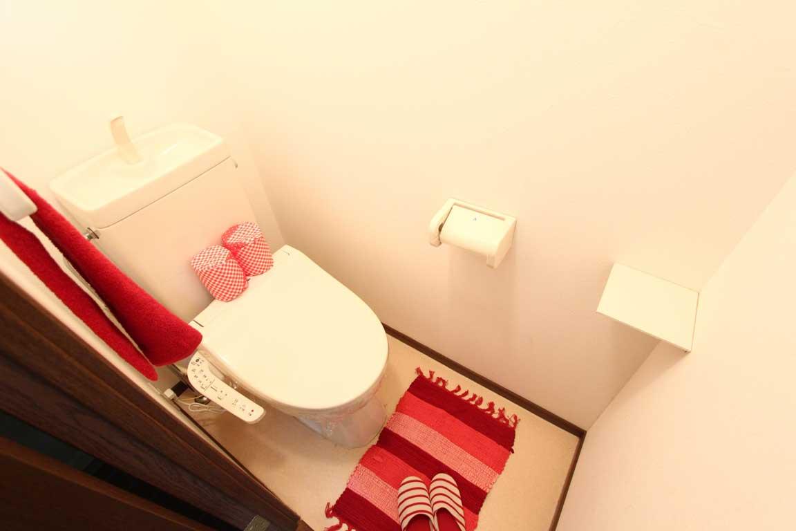 下の階にあるトイレに子どもが一人で行けない時のでしゃばり。