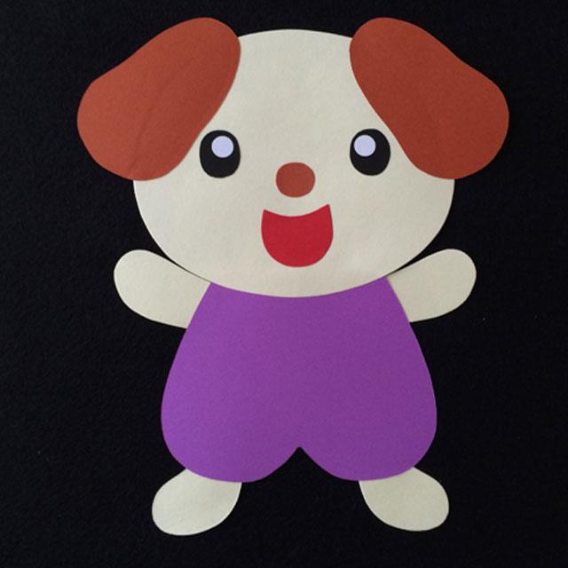 犬の壁面装飾