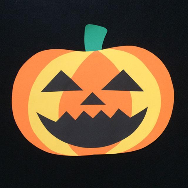 かぼちゃの壁面装飾