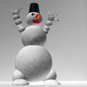 1月の壁面装飾は、雪、新年、冬の動物を意識して作ろう!